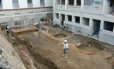 Verlegung der Grundleitung Krankenhaus Goslar
