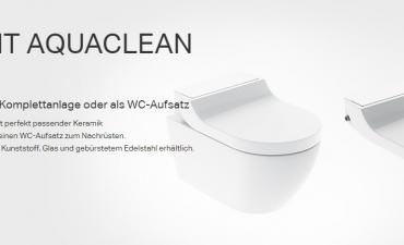 AquaClean - das Dusch-WC
